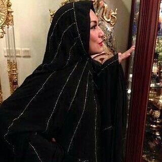 Mukena Al Gani Mawaddah Hitam
