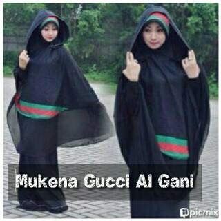 Mukena gucci al gani   Mukena Al Gani
