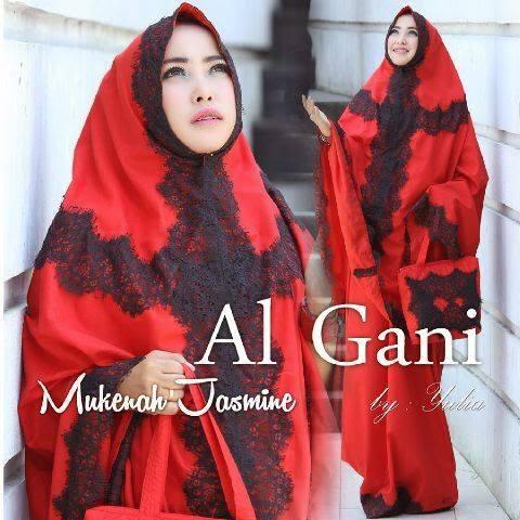 mukena jasmine merah