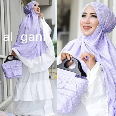Mukena Al Gani Murah | Mukena Al Gani