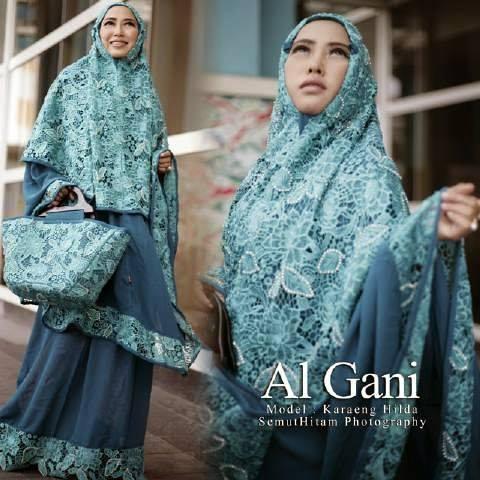 mukena elegan | Mukena Al Gani