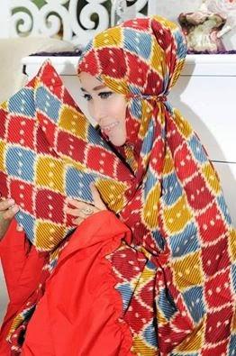 Mukena Al Gani Nuris Merah