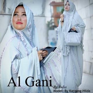 Mukena Al Gani Fatima Biru