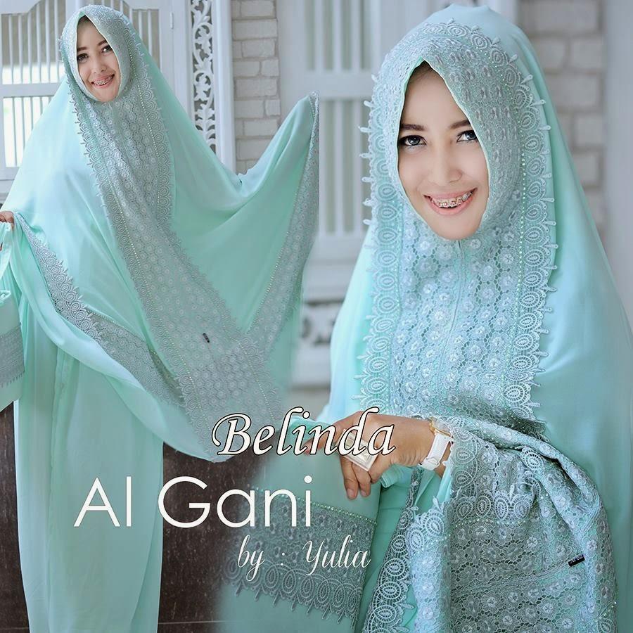 Mukena Al Gani Belinda Hijau Mint/Tosca