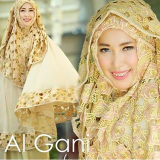 Mukena Mewah Elegan | Mukena Al Gani