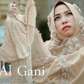 Mukena Al Gani Fatima Coksu