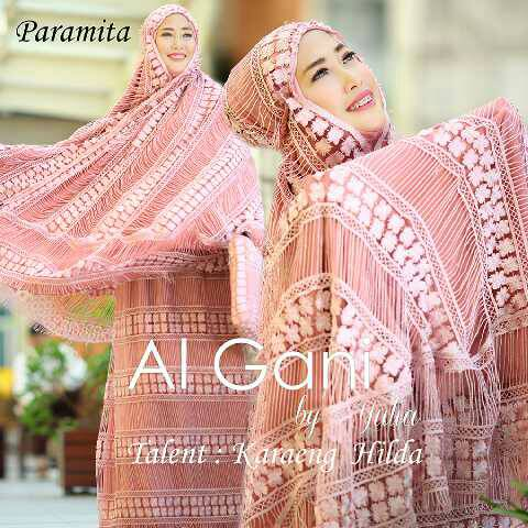 Mukena Al Gani Paramita Pink