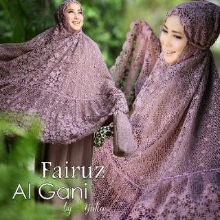 Mukena Al Gani Fairuz Ungu