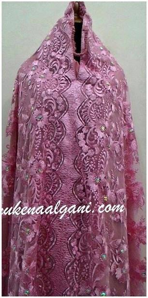 Mukena Al Gani Azizah Pink