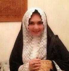 Mukena Al Gani Belinda Hitam Renda Putih