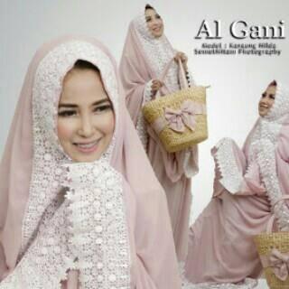 Mukena renda cantik | Mukena Al Gani