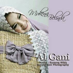 Mukena Al Gani Belinda Ungu