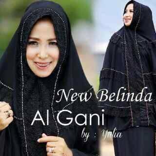Mukena Al Gani Belinda Hitam
